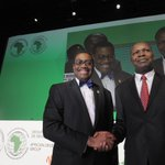 Akinwumi Adesina of #Nigeria elected 8th President of the #AfDB http://t.co/ThHJv75JKD #AfDBAM2015 #AfDBdecides http://t.co/aVY5cdQwMd