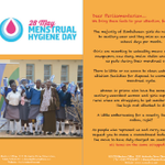 We join @BeatriceSavadye send this BIG ask to government #MenstruationMatters @SirNige @Hon_Kasukuwere @ProfJNMoyo http://t.co/yQl5uLXPE2