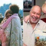 Casal da capa do disco Woodstock está junto até hoje http://t.co/QdWIOYXStS http://t.co/GVxak3ZDtU