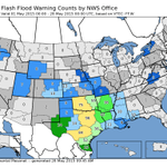 WFO Norman staff has been quite busy over the past month! See how our warning counts compare with other NWS offices. http://t.co/N50oqOukhv