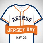Tomorrow is #JerseyDayHOU so wear your #Astros best! RT NOW for chance to win a jersey from our #Astros Team Store. http://t.co/P4MSITaf50