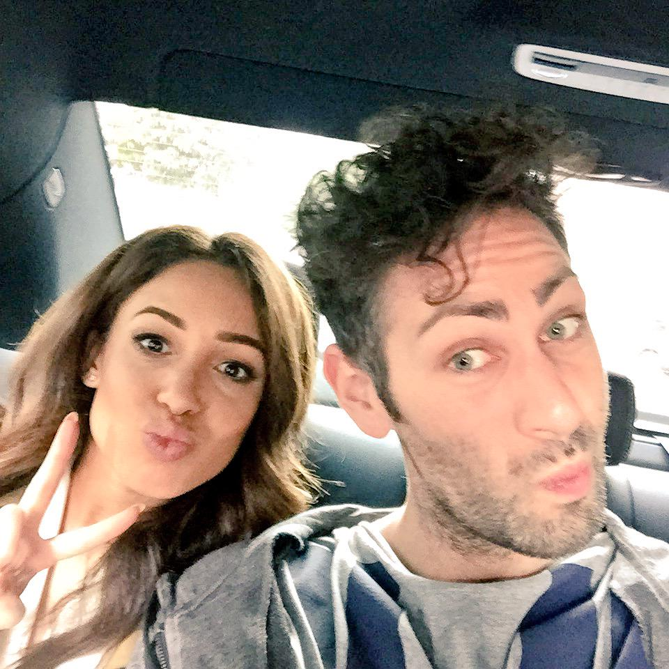 Back in our @UberUK, #FIDAY continues!! @DaniellePeazer @frockadvisor http://t.co/J8Keap3mtD