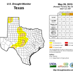 For the first time in years, #Texas shows no sign of extreme #drought. #TxDrought #DroughtMonitor http://t.co/wl9jPdAVem