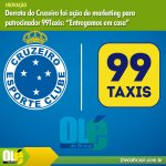 "Derrota do Cruzeiro foi ação de marketing para patrocinador 99Taxis: ""Entregamos em casa"" https://t.co/FD3UMYitiW http://t.co/0WbzN9w6uX"