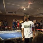 #Brewers Ryan Braun defeated #Packers Randall Cobb to win last nights Ping Pong Challenge for Charity in Milwaukee: http://t.co/4zYNcH0Fnn