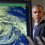 .@POTUS at National Hurricane Center in Miami (via @aldiazphoto) http://t.co/8BFjXufByF