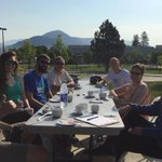 Breakfast and fresh air...A great way to start the day for #BTWW at #TRU #Kamloops http://t.co/u5T42VHEnl