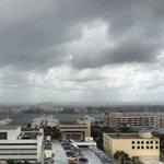 Showers approaching downtown West Palm Beach. @CBS12 http://t.co/0odNWyZ6w7