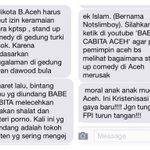 Bawa komik nonmuslim @NOTASLIMBOY standup dianggap kristenisasi gaya baru #bandaacehmasukakal http://t.co/2RlANSTEsJ