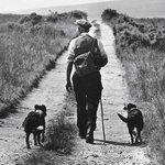 A man and his dogs, Co. Donegal, another great image by the late Bill Doyle #Ireland #Photography http://t.co/WAzkwE8HRo
