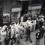 """il était une fois en #Tunisie : Inauguration en 1933 du magasin """"Monoprix"""" de la rue Charles de Gaulles à #Tunis http://t.co/Pno743dTlx"""