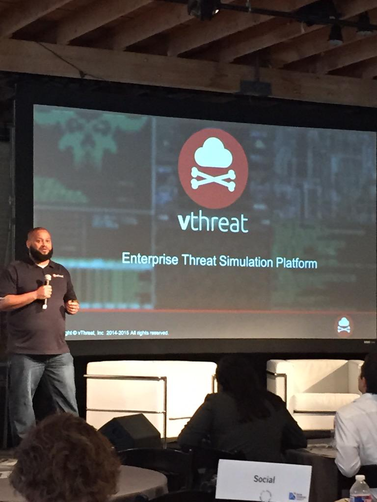 .@marcusjcarey shares his story w/ @vthreat, describes himself as a hacker. #ATCCEOSummit #startup http://t.co/ajaDfhy3uc