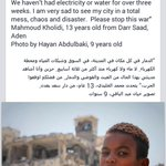 So am I. Im very sad to see my country in a total mess. #Yemen http://t.co/t2J8msH277