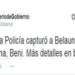 #Loúltimo: Estado boliviano confirmó la detención del prófugo #MartínBelaundeLossio. http://t.co/E3iPKmsL6U