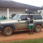 DETENCIÓN. En este vehículo llegó #Belaunde a la carceleta de Magdalena en Beni, tras ser aprehendido. http://t.co/qju7ODVCeT