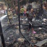 Incendio consume tres casas en las faldas de La Popa, en Cartagena http://t.co/FHPaffPgth http://t.co/ygOqKynyKw