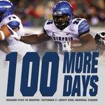 Memphis Footballs season opener is just 100 days away. #HardSmartTough #GoTigersGo http://t.co/LU1YJJhofV