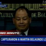 [LO ÚLTIMO] Ministro de Gobierno de Bolivia da detalles de captura de #BelaundeLossio #ENVIVO vía canaln.pe http://t.co/vbmK7pcoAI