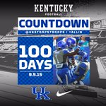 100 Days until kickoff! #StoopsTroops #ALLIN http://t.co/Vd03ro9zAG