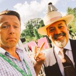 With the @AndrewWilsonii. Gentleman. Legend. Honoured as always. :) at @bloominthepark http://t.co/Ac7QPiCGL2