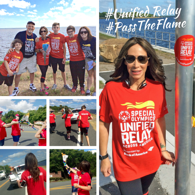 Team Mason's Minions had an exciting day at the @SpecialOlympics #UnifiedRelay here in #Orlando! #PasstheFlame http://t.co/3SHh8bSpBE