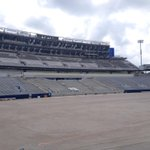 Turf going down at Commonwealth Stadium today. Construction ongoing http://t.co/fNcTg8xKBy