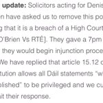 .@broadsheet_ie on its response to a request from Denis OBriens lawyers asking it to remove its post http://t.co/sAPAl5PNCM