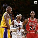 .@alleniverson says a Big 3 of him, @SHAQ & Jordan could go 82-0 with anyone in the backcourt http://t.co/oIv7P4drF2 http://t.co/wJZy15rjvr