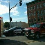 Accident snarling traffic in centennial bridge in Davenport. http://t.co/yJxDCVmwmf