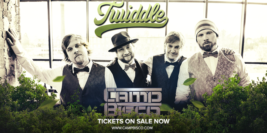 welcome to @campbisco, @Twiddlemusic! see you at Montage Mtn this July 16-18. http://t.co/FkMB5PtYrD  #CampBisco http://t.co/zbxqB8nAti
