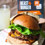 Beast #Burger by @BeyondMeat has 23g of #protein, & is #GlutenFree & #SoyFree. #BestVeganBurgers #NationalBurgerDay http://t.co/pUPO8dTVNW