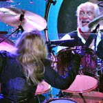 RT @gmarlowe Gettys photograph of Mick Fleetwood onstage at the O2 last night with Fleetwood Mac http://t.co/Rtn37fibx8