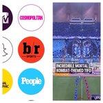 """برنامج SnapChat نشر تيفو الهلال الرائع في مباراة بيروزي وعلّق """"تيفو لا يُصدق """" بعنوان مورتال كومبات ???????? #الهلال http://t.co/zdSyqkUJMs"""