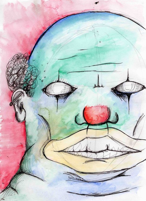 Three things are required for our new #WeeklyWritingChallenge. One of 'em is a clown. WATCH: http://t.co/oUKlv84uGB http://t.co/DSLgW34sAP