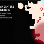 Theres a trauma desert on #Chicagos #SouthSide. If an adult needs trauma care, they travel miles. @traumacenternow http://t.co/bKObo6dMPr