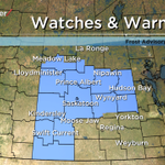 Frost Advisory issued for #yxe, central & SW #SK. Temps falling below 0 tonight. Frost may damage plants. #skstorm http://t.co/4dJsqCMzDw