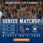 All #Astros games at #MMP this weekend vs. White Sox will proceed as scheduled. Info: http://t.co/wNAbihEcq8 http://t.co/dTdp3ph7ik