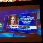 Very proud of our female representative Camila! An inspiration to us all! #WarEagle http://t.co/gRXxg1Dcxa
