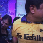 Mirle Shivashankar, first father whose daughters both won the Spelling Bee, breaks out AMAZING SHIRT http://t.co/9aozlWnYkx