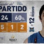 Final. Weber Bahía 84-71 Peñarol. El goleador fue Lucio Redivo con 24 puntos, forzando un 5to juego. #VamosBahia. http://t.co/6VIc9Pm4xS