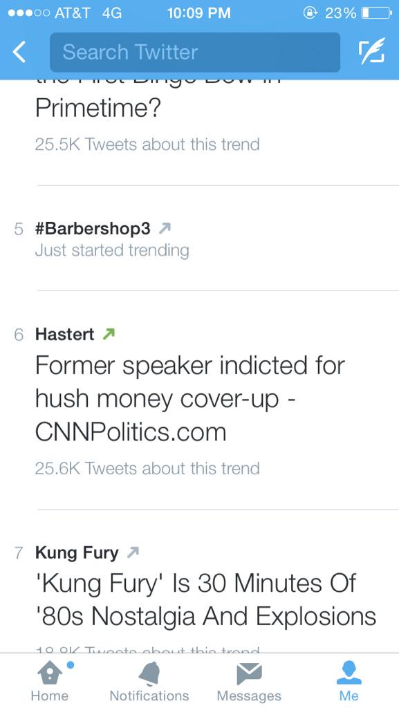 RT @NickiDaBadBitch: @NICKIMINAJ yes at Barbershop 3 trending ???? http://t.co/2teC6fW8YD