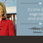 Thank @HillaryClinton for pushing for #EqualPayNow on the campaign trail: http://t.co/E4ZcQ6Yu6K http://t.co/Q0yl4eLtyq