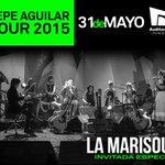 La Marisoul será invitada especial en el espectáculo de Pepe Aguilar en el @AuditorioMx el 31 de Mayo ^Staff Pp http://t.co/vMonlfl2Rt