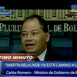 [VIDEO] Ministro de Bolivia desmiente a Belaúnde: Está en perfectas condiciones de salud http://t.co/9t1PV5Mxfo http://t.co/MjnYiMgJJn