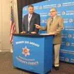 .@RealSheriffJoe thanks Phoenix police and FBI for arrest of ex-deputy in day long crime spree. #fox10phoenix http://t.co/SjI9sQXeuf