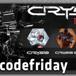 Its Friday & that means free games in #freecodefriday!  FOLLOW & RT by 11:30 AEST to enter to win the Crysis Trilogy http://t.co/Y1GAqN4f2Z