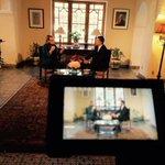 Avec @JoanPolaschik Ambassadeur des États-Unis à Alger. Interview très intéressante http://t.co/405IOlrarO
