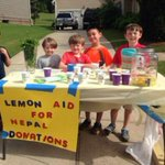 We love this: Alabama elementary school children host lemonade stand to raise funds for Nepal http://t.co/bN9xoRdMka http://t.co/kC79ByL2NW
