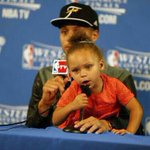 What do u plan on doing if u win the NBA Finals? Steph: Ill rela- Riley: We goin to Disney World bitch.Next question http://t.co/hD9przXYtE
