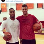Louisville basketball welcomes Trey Lewis and Damion Lee to campus: http://t.co/sFN0BOtHwf